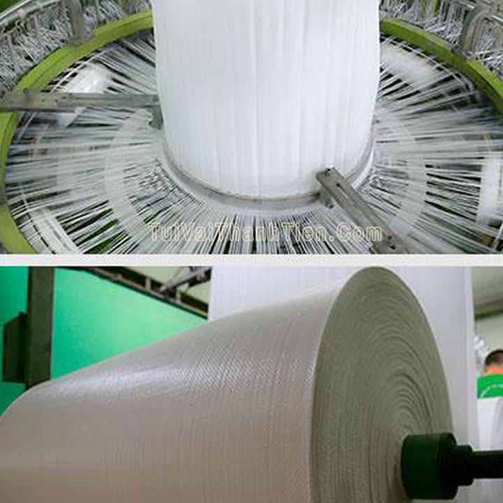 sản xuất vải dệt pp cán màng