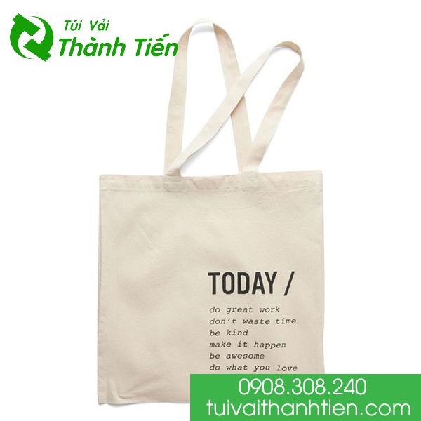 may túi vải bảo vệ môi trường giá rẻ