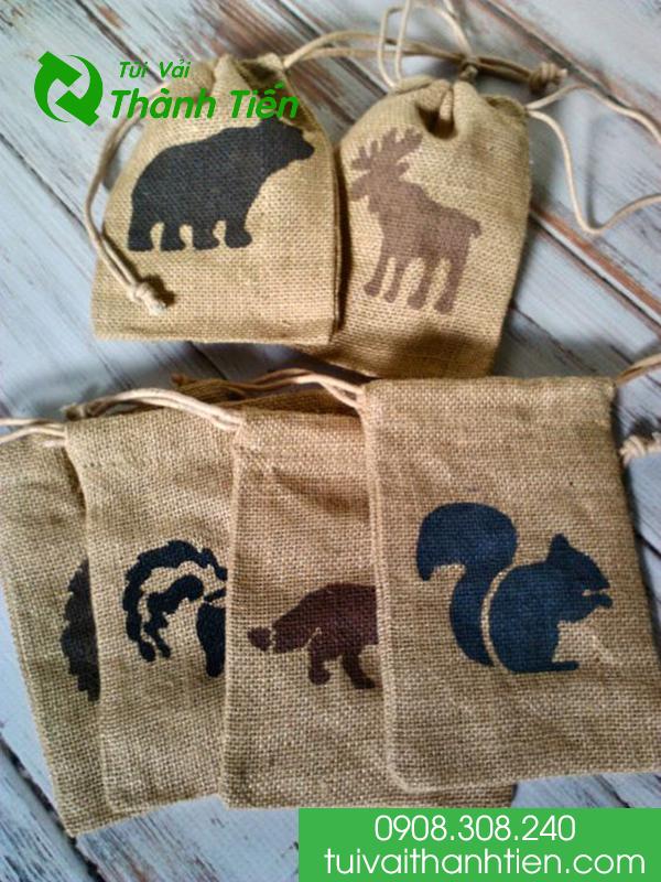 mẫu túi vải bảo vệ môi trường đẹp
