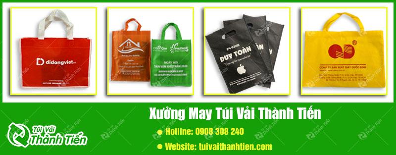 Xuong gia cong tui vai Thanh Tien lay uy tin lam nen thuong hieu