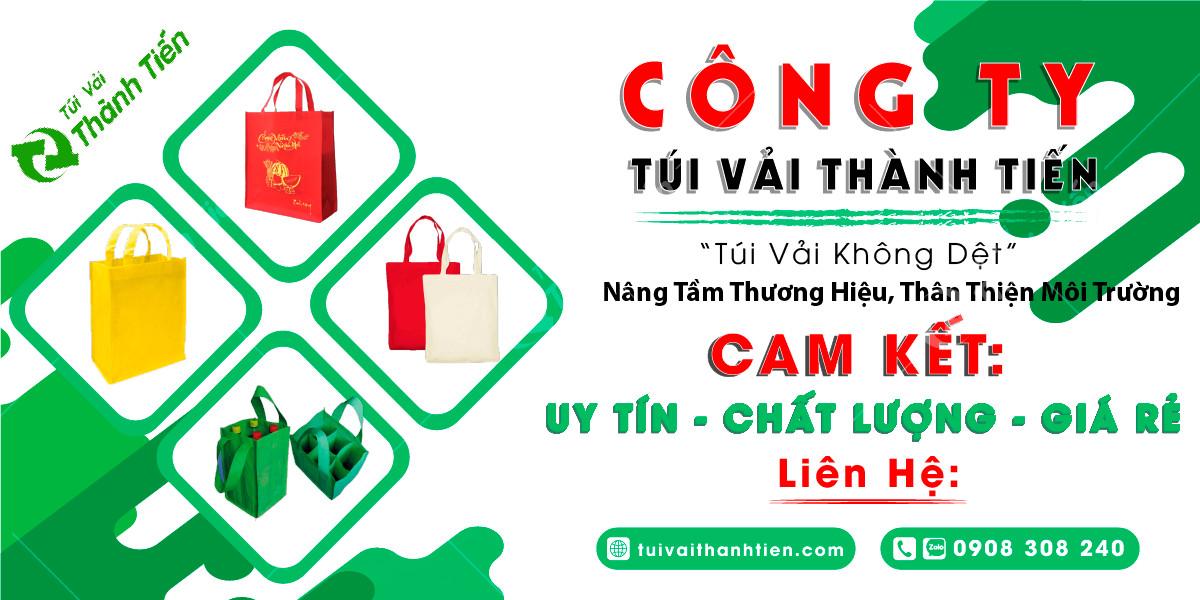 Cong ty san xuat tui vai khong det gia re TPHCM - tuivaithanhtien.com