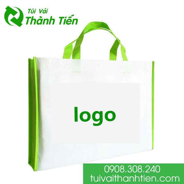 Tui vai in logo phu hop thi hieu khach hang